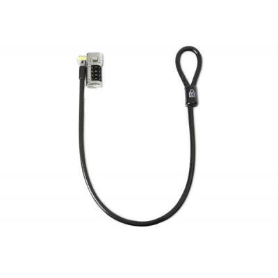 Kensington kabelslot: ClickSafe - Zwart