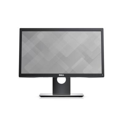 Dell monitor: P2017H - Zwart
