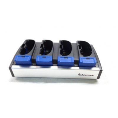 Intermec 4-Slot, f / CK30 / CK31 Oplader - Zwart, Blauw, Grijs