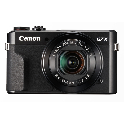 Canon PowerShot G7X Mark II Digitale camera - Zwart