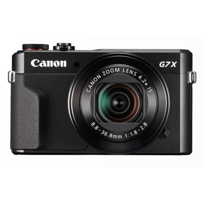 Canon PowerShot G7X Mark II Digitale camera - Zwart