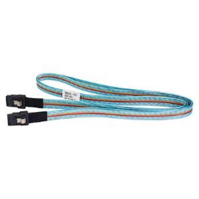 Supermicro mini SAS/mini SAS Kabel - Zwart, Blauw