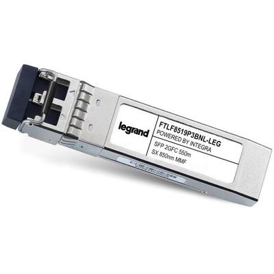 Legrand Finisar[R] FTLF8519P3BNL compatibele TAA-conforme 1000Base-SX SFP-transceiver (MMF, 850 nm, 550 m, LC, .....