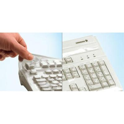 Cherry toetsenbord accessoire: Flexible protective film for keyboards - Transparant
