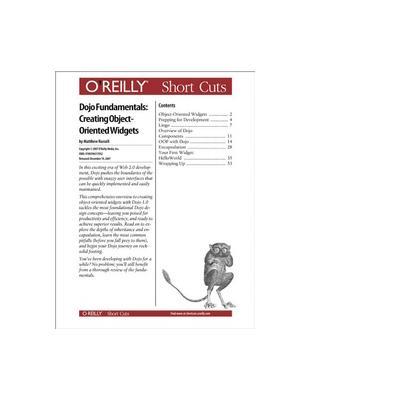 O'reilly boek: Media Dojo Fundamentals: Creating Object-Oriented Widgets - eBook (PDF)