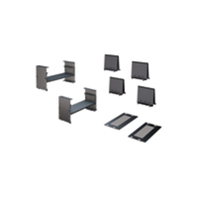 APC Trough Adapter Kit Rack toebehoren - Zwart