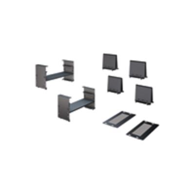 APC Trough Adapter Kit Rack toebehoren - Zwart