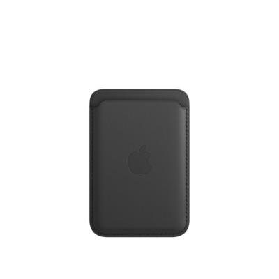 Apple Leren kaarthouder met MagSafe voor iPhone - Zwart