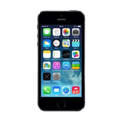 Apple smartphone: iPhone 5S 16GB - Space Gray - Refurbished - Geen tot lichte gebruikssporen