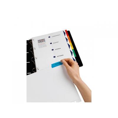Avery indextab: Tabblad A4 Indexmaker kleur/set 6
