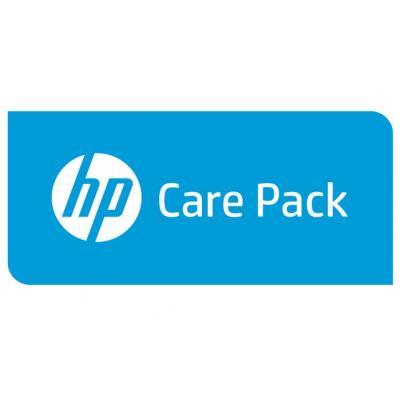 Hewlett Packard Enterprise U4ZQ4E aanvullende garantie