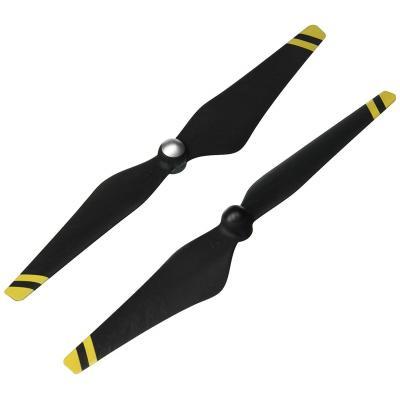 Dji : Phantom 3 Propeller Carbon/Yellow - Koolstof, Geel