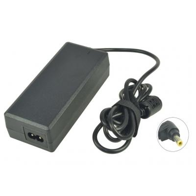 2-Power AC Adapter Kit 19V 75W w/EU+UK Cables inc. mains cable Netvoeding