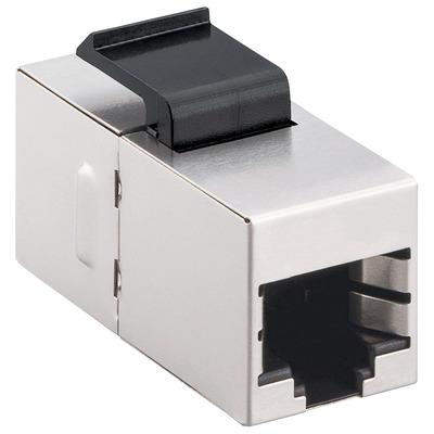 Intellinet 512008 Kabel connector - Zilver