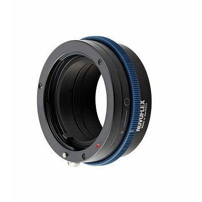 Novoflex lens adapter: Sony NEX to Minolta AF/Sony alpha adapter - Zwart, Blauw