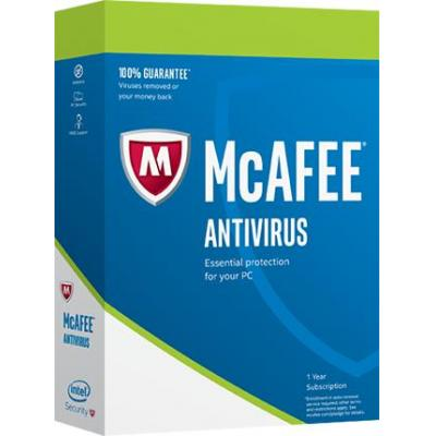 Mcafee software: AntiVirus 2017