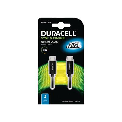 Duracell USB5030A Oplader - Zwart