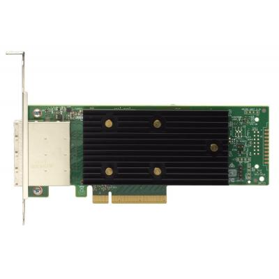 Lenovo interfaceadapter: ThinkSystem 430-8e SAS/SATA 12Gb HBA - Zwart, Groen