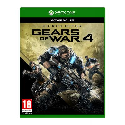 Microsoft game: Gears of War 4 (Ultimate Edition)  Xbox One