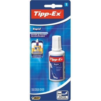 TIPP-EX Tipp Ex Rapid Blister 1 Correctievloeistof - Wit