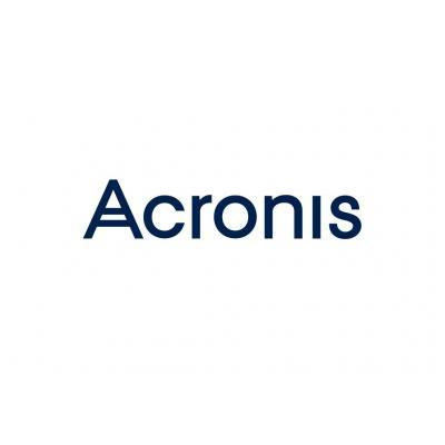 Acronis Backup to Cloud Opslag