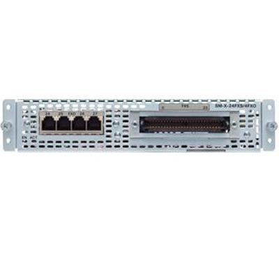 Cisco SM-X-24FXS/4FXO= Voice network module