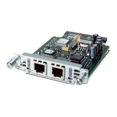 Cisco voice network module: 2 Port Voice Interface Card
