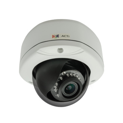 ACTi E83A Beveiligingscamera - Zwart, Wit