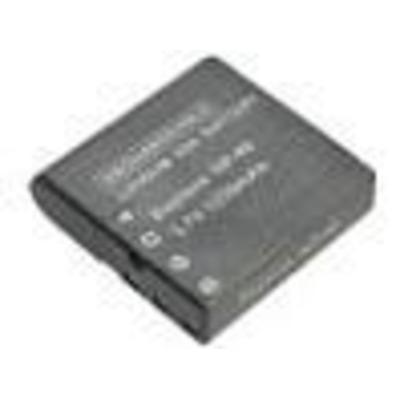 CoreParts Li-ion 3.7V 740mAh - Zwart
