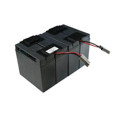 2-Power Valve Regulated Lead Acid Battery UPS batterij - Zwart