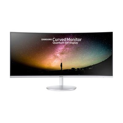 Samsung C34F791WQU Monitor - Grijs