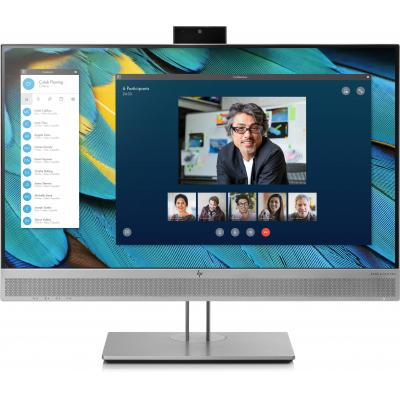 """HP EliteDisplay E243m 23,8"""" FHD IPS (ingebouwde webcam) Monitor - Zwart, Zilver"""