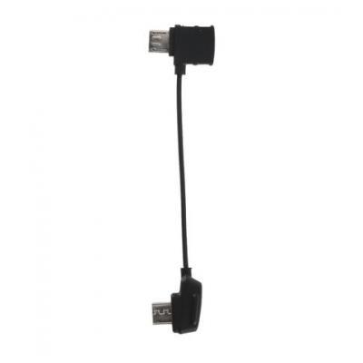 DJI Mavic RC Cable (reverse Micro-USB connector) USB kabel - Zwart