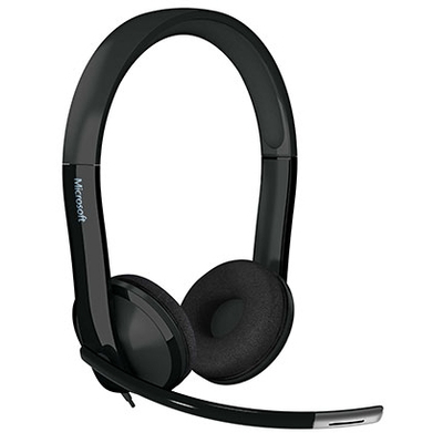 Microsoft headset: LifeChat LX-6000 for Business - Zwart