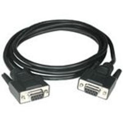 C2G 3m DB9 Cable Seriele kabel - Zwart