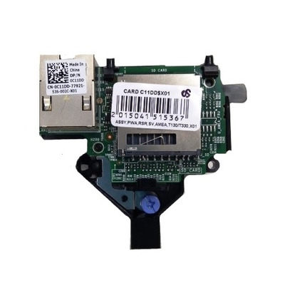 DELL iDRAC Port Card for T130/ T330 Op afstand beheerbare adapter