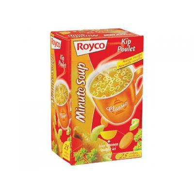Royco voedingswaar: Minute soup Kip/ds 25 zakjes