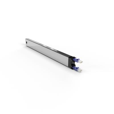 PATCHBOX ® 365 Cat.6a Cassette (STP, Violet, 0.8m / 8RU) Netwerkkabel