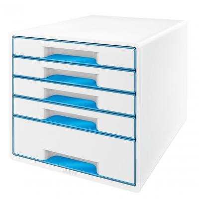 Leitz bureaulade: WOW Ladenblok - Blauw, Wit