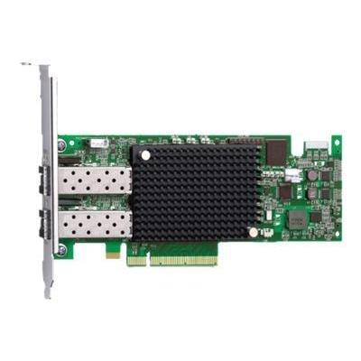 Dell netwerkkaart: Emulex LPe-16.002 Fibre Channel Host Bus Adapter - Groen