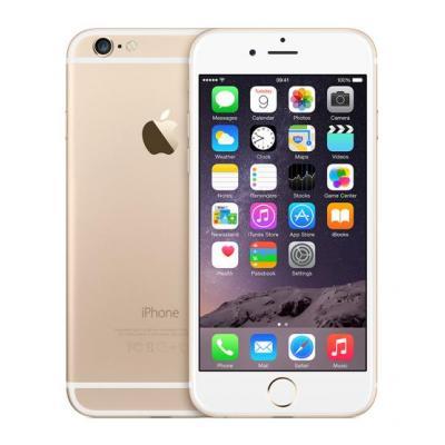 Apple smartphone: iPhone 6 - Refurbished - Lichte gebruikssporen  - Goud 64GB (Refurbished LG)