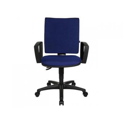 Staples stoel: Bureaustoel Zero blauw