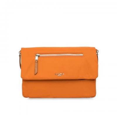 Knomo vrouwen-handtas: Elektronista - Oranje