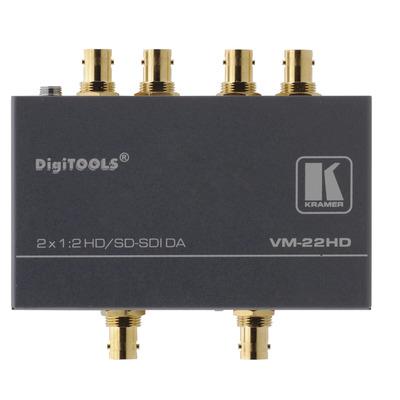 Kramer Electronics Kramer VM-22HD Distr. Versterker Video-lijnaccessoire