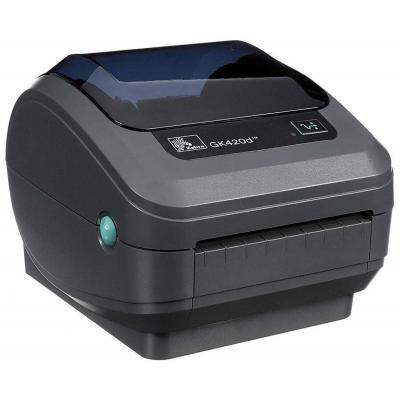 Zebra GK420d DT - USB - Ethernet Labelprinter - Grijs