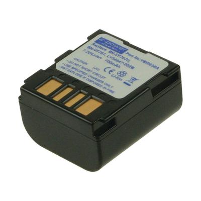 2-Power VBI9656A Batterijen voor camera's/camcorders