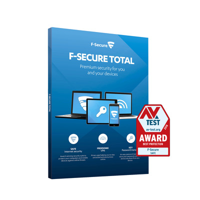 F-SECURE Total Security and Privacy Software