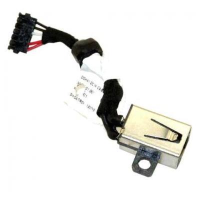 Dell notebook reserve-onderdeel: DC-IN Cable - Zwart