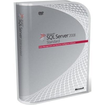 Microsoft software: SQL Server 2008 Standard, CAL, OVS-C