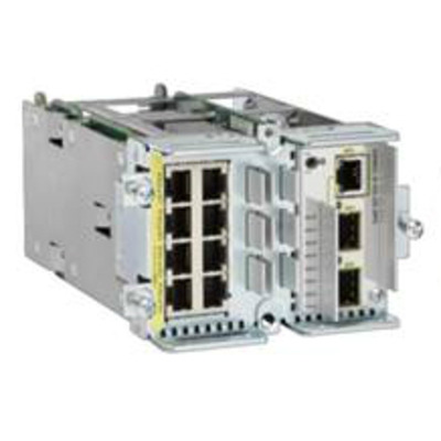 Cisco netwerk switch module: GRWIC-D-ES-2S-8PC